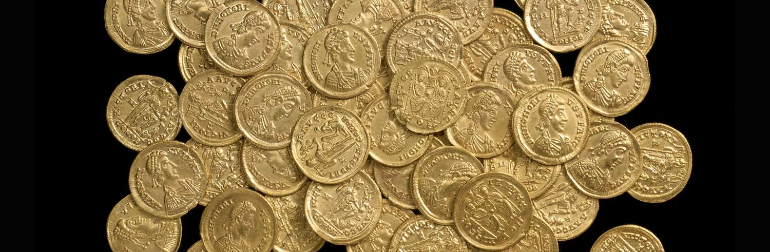 The gold coin hoard from Hertfordshire