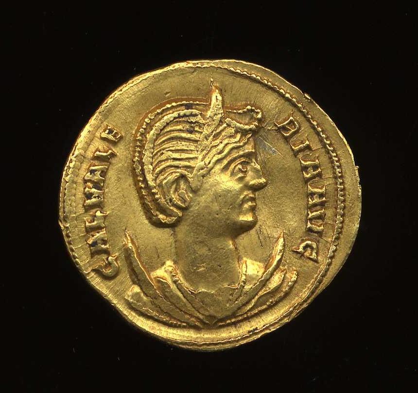 Galeria Valeria: Obverse Image Of A Coin Of Galeria Valeria