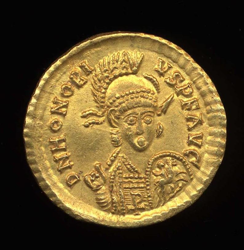 profile for emperor  honorius  emperor