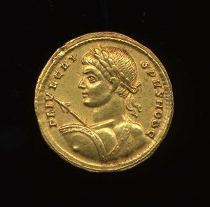 Obverse image of a coin of Constantius II