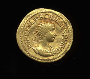Obverse image of a coin of Macrianus Major