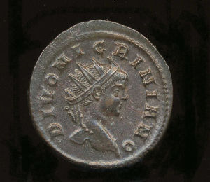 Obverse image of a coin of Nigrinian