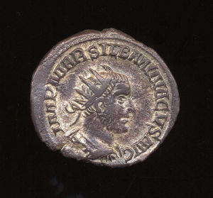 Obverse image of a coin of Silbannacus