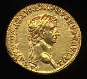 Obverse image of a coin of Claudius