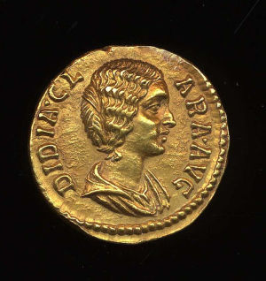 Obverse image of a coin of Didia Clara
