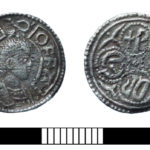 Early medieval silver penny of Offa of Mercia, found in Berkshire (SUR-9A3435). Copyright: Berkshire Archaeology, CC-BY Licence