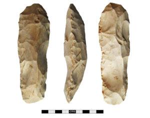 Mesolithic 'tranchet' axe