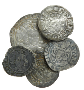 Medieval coin hoard (LVPL-5F033A) Copyright: Museum of Liverpool. License: CC-BY.