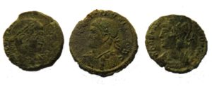 Poorer surface preservation can be seen on these coins. Copyright: Trustees of the British Museum. License: Attribution License.