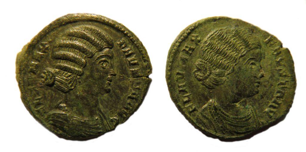 Flavia Maxima Fausta (289–326). Copyright: Trustees of the British Museum. License: Attribution License.