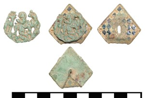 ESS-940232 Pilgrim badge of St Hubert.