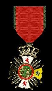 Cross of the Order of St hubert By Robert Prummel