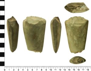 Neolithic Axe from the Caldy area of Wirral.