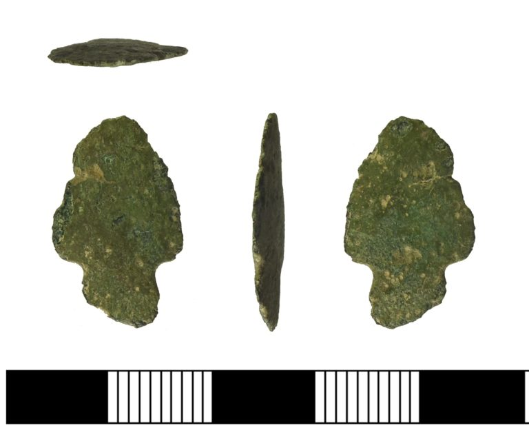 A Bronze Age Arrowhead from Surrey.