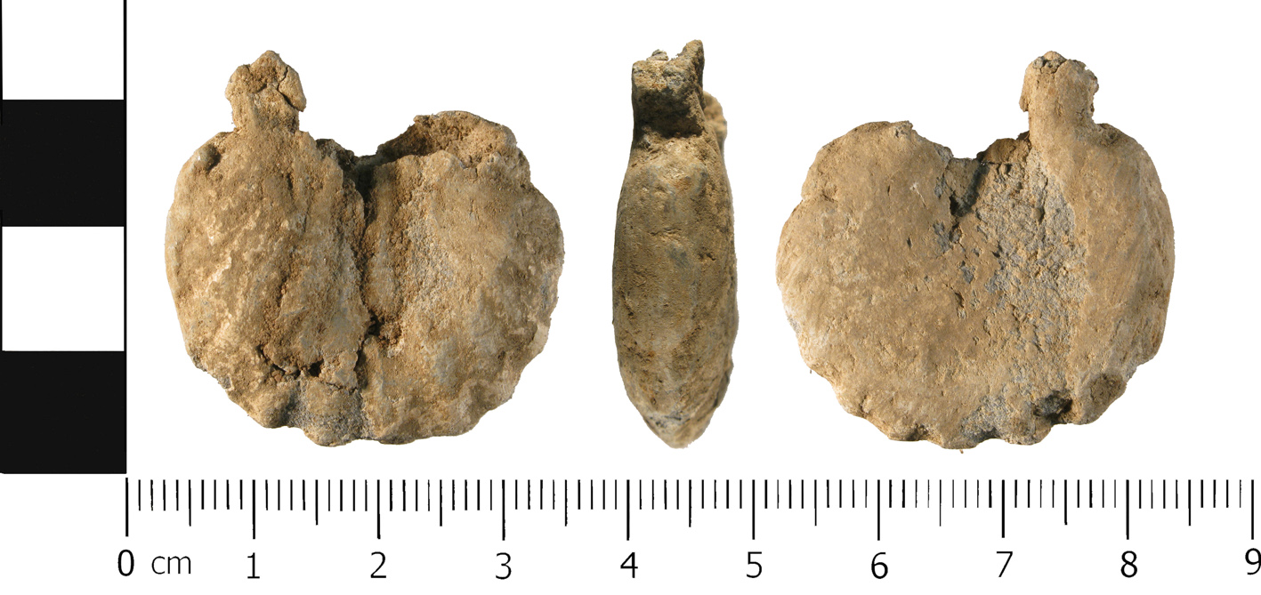 WMID-6D02A1, an incomplete ampulla.