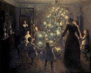 Christmas Tree, by Viggo Johansen.