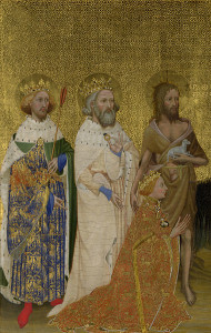 Wilton Diptych Left Panel