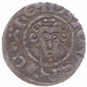 Obverse of CM.1290-2001; a York Mint Penny of Henry III.