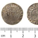SWYOR-6672A0; Medieval penny of Henry III, Class 6c3