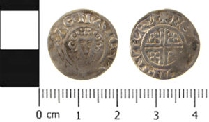 SWYOR-6672A0; Medieval penny of Henry III, Class 6c3