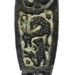 Early-medieval 'Wooperton-type' strap-end (YORYM-D23B76). Copyright: York Museums Trust. CC-BY licence.