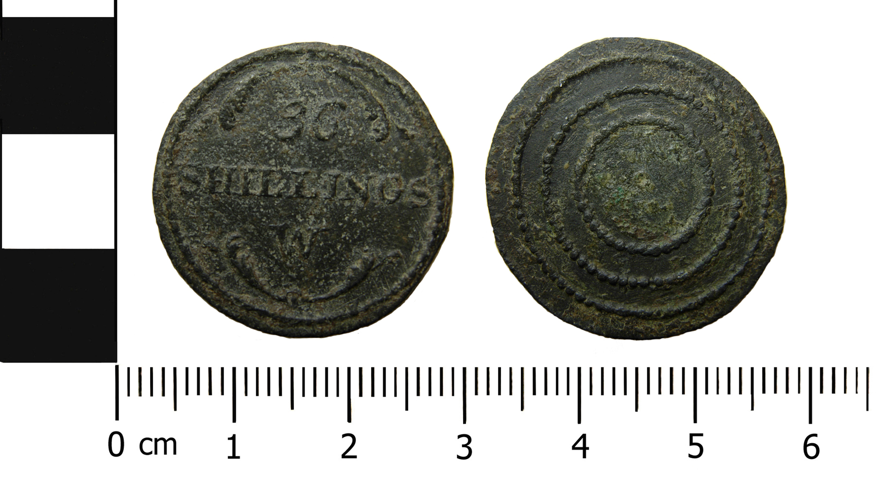 Coin weight made by C and L Proctor