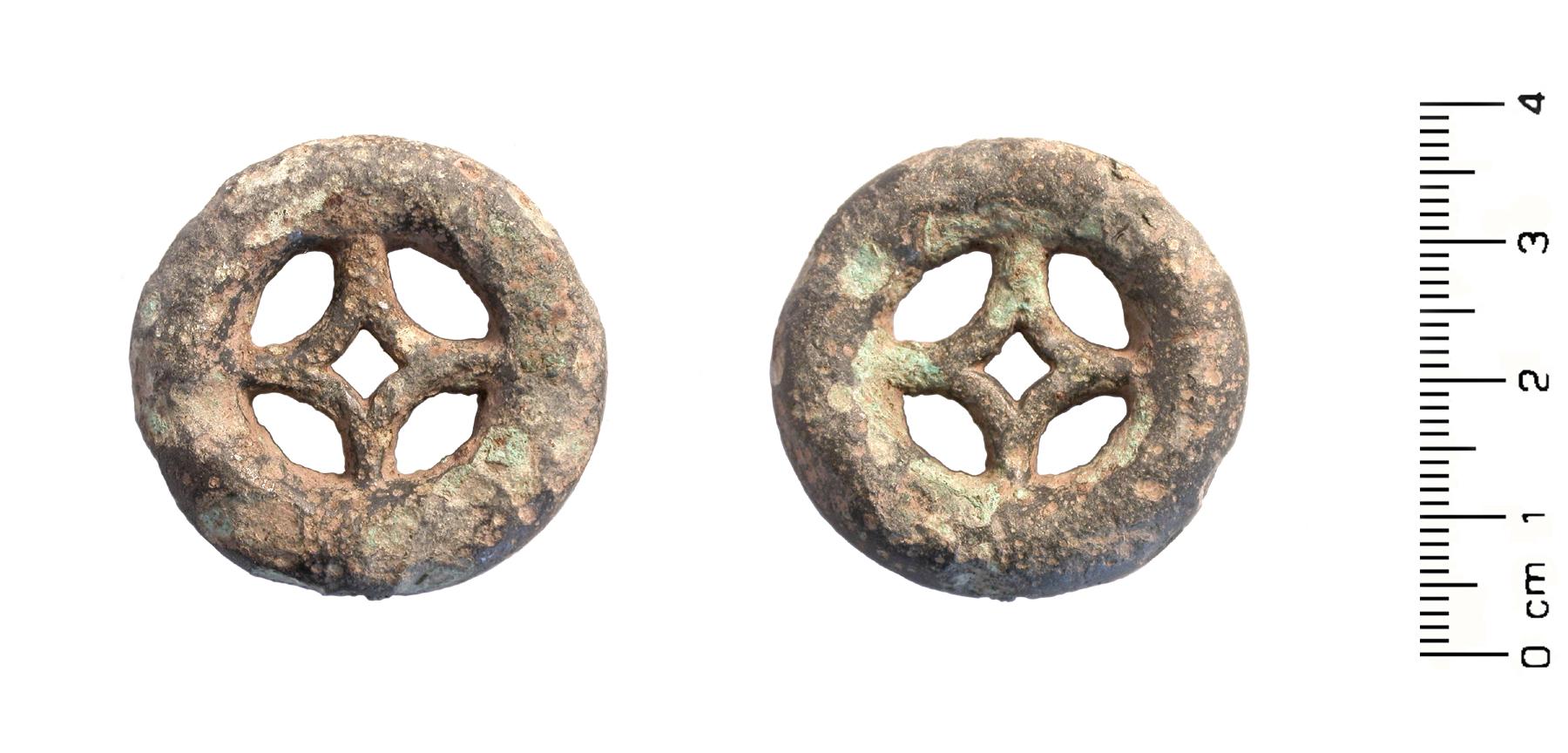 Filelate Bronze Age Early Iron Age Miniature Wheel Votive Model