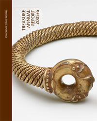 The cover of the 2005 - 2006 report