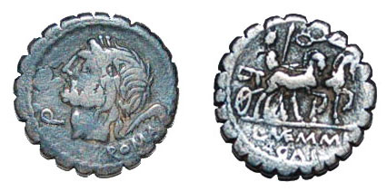 Denarius Serratus from Devon