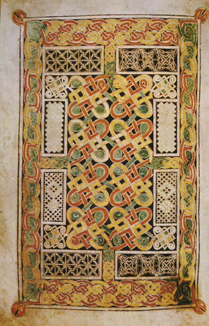 The Book of Durrow f. 125 vo