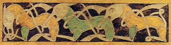 Book of Durrow f. 192 vo (detail)