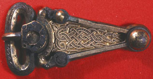 Buckle from Sarre grave 68, Kent