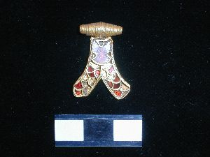 The Anglo-Saxon pendant recorded at the finds roadshow in York.