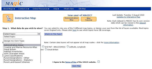 How to find a National Grid Reference