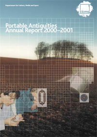 The cover of the 2000 - 2001 report
