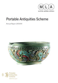Cover of the 2003 - 2004 report