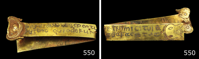 The inscribed object StH 550