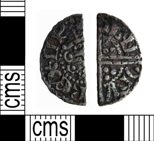 PUBLIC-8170E3: Henry III cut half penny