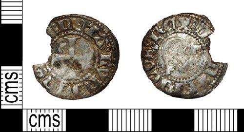 LANCUM-5C6D04: Medieval hammered silver coin