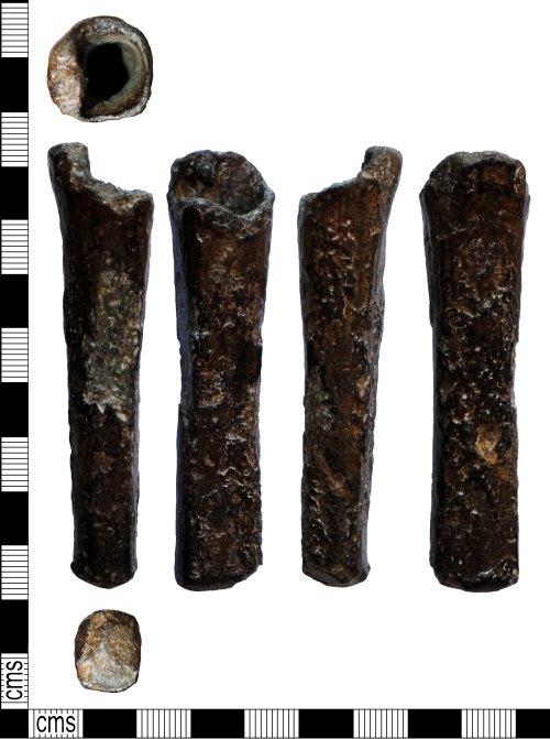 LANCUM-5AC798: Bronze Age copper alloy socketed hammer