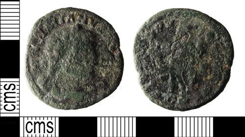 PUBLIC-293AAF: copper alloy Roman Nummus of Maximianus[AD 286-310]