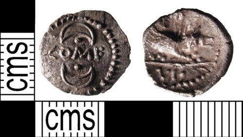 SUSS-9E7872: A silver Iron Age unit of Verica of the Atrebates and Regni, AD.10-40.