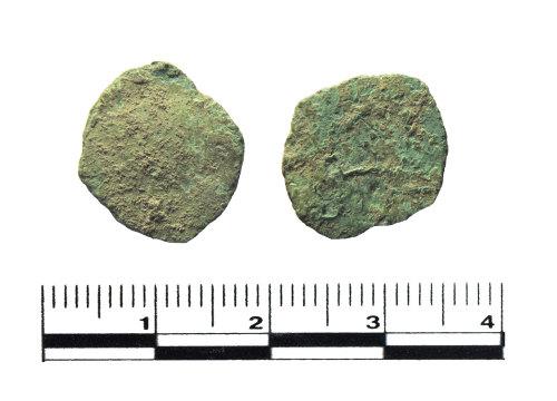 PUBLIC-07B4D8: Roman coin. Possible barbarous radiate.