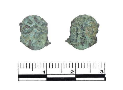PUBLIC-30981E: Roman coin. Copper alloy barbarous radiate