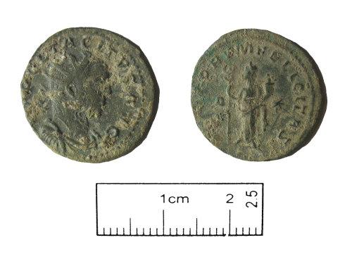 PUBLIC-69604A: Roman coin. Radiate of Tacitus