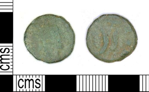 LEIC-B0CE74: LEIC-B0CE74 Roman coin: Radiate of Claudius II