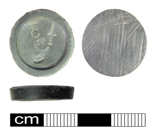 PUBLIC-4E573A: Post Medieval Trade Weight: Charles I or II