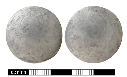 A resized image of Post Medieval coin: Shilling of William III