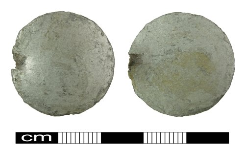 A resized image of Post Medieval Coin : forgery of a C17th shilling