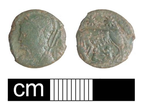 PUBLIC-C0F07D: Roman coin: barberous copy